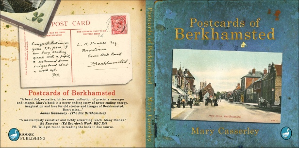 Postcards of Berkhamsted - Cover and book design