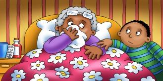 Gran is unwell